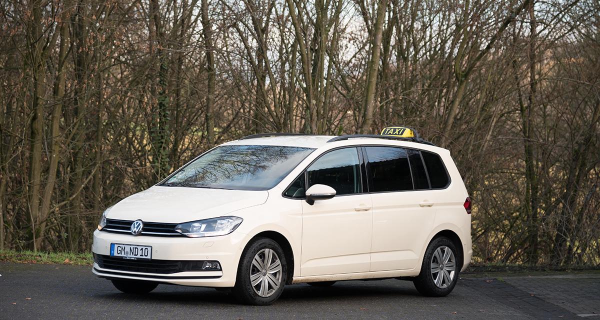 Fuhrpark Taxi Lang VW-Touran