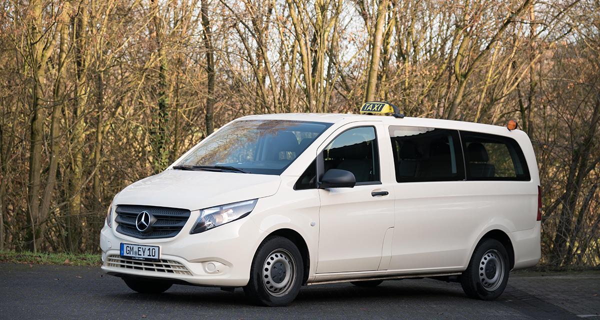 Fuhrpark Taxi Lang Mercedes-Vito
