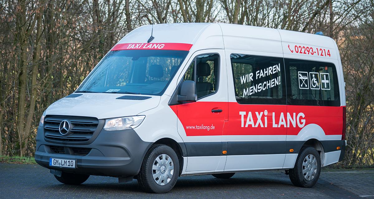Fuhrpark Taxi Lang Mercedes Sprinter